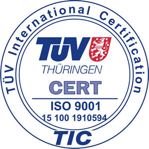 International Certification ISO 9001